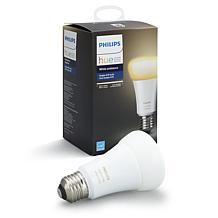 Philips - Hue White Ambiance A19 Smart LED Bulb