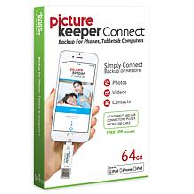 Picture Keeper Connect 64GB Smartphone Photo Saver and Storage Device