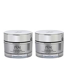PRAI 2-pack Platinum Firm & Lift Night Crème