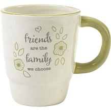 Precious Moments Friends Are The Family We Choose Ceramic Mug