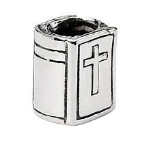 Prerogatives Sterling Silver Bible Bead