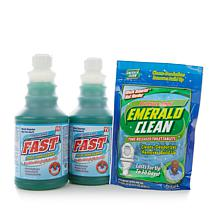 Professor Amos FAST Toilet & Tank Cleaner Kit w/Tablets
