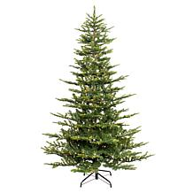 Puleo 7-1/2 ft. Pre-Lit Arctic Fir Artificial Christmas Tree