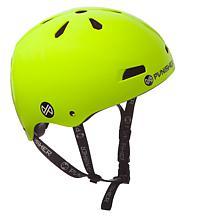 Punisher Premium Neon Yellow Youth Skateboard Helmet