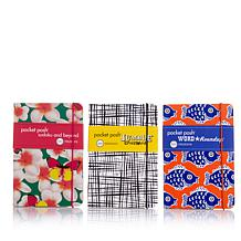 Puzzle Society Pocket Posh 3-piece Puzzle Book Bundle