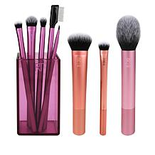 Real Techniques Must-Haves 8-piece Synthetic Brush Set