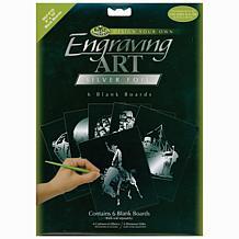 "Royal Langnickel Engraving Foils - Silver/8"" x 10"""
