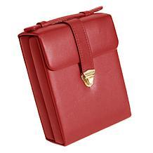 Royce Leather Women's Pocketbook Jewelry Case