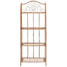 Safavieh Amaris 4-Tier Outdoor Baker's Rack