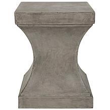 Safavieh Curby Concrete Accent Table - Gray