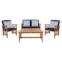 Safavieh Patio Furniture Sets | HSN on Safavieh Outdoor Living Fontana id=62535