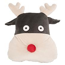 Safavieh Reno Reindeer Pillow
