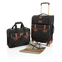 "SAM 22"" Spinner and Messenger Bag 2-piece Set"