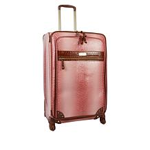 "Samantha Brown Ombré Croco-Embossed 30"" Upright Spinner"