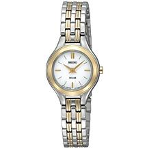 Seiko Women's Classic Two-Tone Stainless Steel Solar Watch
