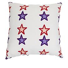 """Sewing Down South Americana 20"""" x 20"""" Pillow"""