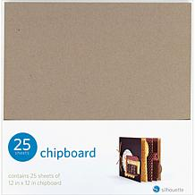Silhouette Chipboard 25-pack
