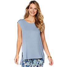 Slinky® Brand 2pk Sleeveless Drop-Shoulder Step-Hem Tunics