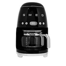 SMEG Stainless Steel 10-Cup Drip Coffee Maker