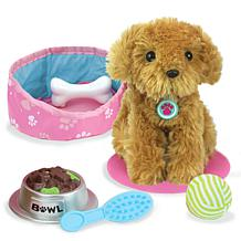 """Sophia's by Teamson Kids Puppy Dog and Accessories Set for 18"""" Dolls"""