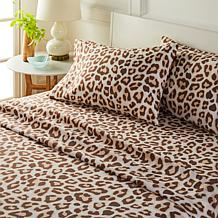 South Street Loft Safari Collection 4-piece Microfiber Sheet Set