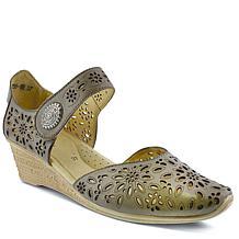Spring Step Nougat Wedge Sandal