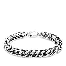 "Steve Madden Men's Twisted Curb Chain 8-1/2"" Bracelet"
