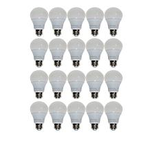 StoreSmith 20-pack A19 60-Watt Dimmable LED Bulbs - Bright White