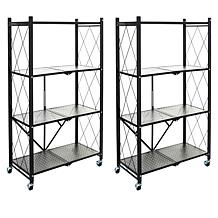 StoreSmith 4-Tier Large Rack Set of 2