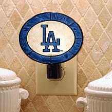 Team Glass Nightlight - Los Angeles Dodgers
