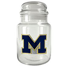 Team Logo Candy Jar - Michigan Wolverines