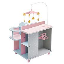 Teamson Kids Olivia's World Polka Dots Princess Doll Changing Station