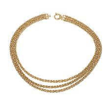 "Technibond® 3-Strand Byzantine 18"" Necklace"