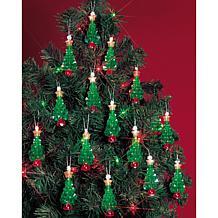 The Beadery Holiday Beaded Ornament Kit -  Mini Trees