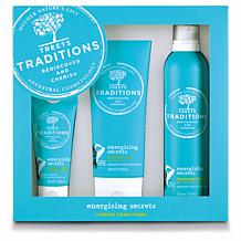 Treets Traditions Energizing 3-piece Gift Set