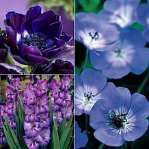 VanZyverden Color Your Garden Blue Collection 38-piece Bulb Set