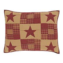 VHC Brands Ninepatch Star Sham