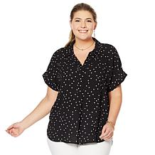 037bd72416517 Vince Camuto Oasis Bloom Popover Blouse
