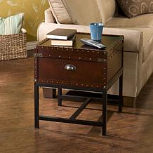 Voyager Espresso Storage End Table
