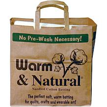 Warm and Natural Cotton Batting - Twin Size