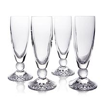 Waterford Riverside Drive Set of 4 Champagne Flutes
