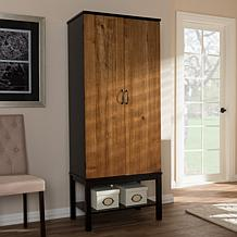 Wholesale Interiors Marya Wood Wine Cabinet