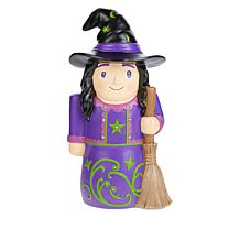 """Wind & Weather 16"""" Halloween Shorty Statue with LEDs & Timer"""