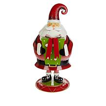 Wind and Weather Holiday Indoor/Outdoor Painted Metal Bobble Figure