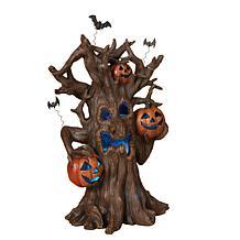 Winter Lane Haunted Tree Figurine