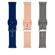 WithIT Fitbit Versa 3 and Fitbit Sense Silicone Band 3-pack