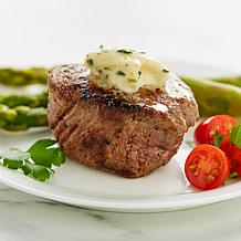 Wolfgang Puck Filet Mignon Steaks & Horseradish  Butter - 5/11 Ship