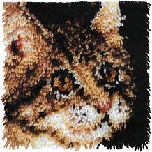 "Wonderart 12"" x 12"" Latch Hook Kit"