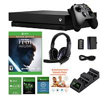 Xbox One X 1TB Star Wars Jedi Fallen Order Console Bundle