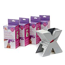 "Xyron® 1.5"" Silver Sticker Maker with Adhesive Refills"